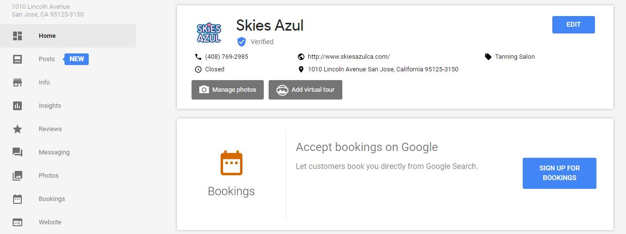 Booking Option Set Up