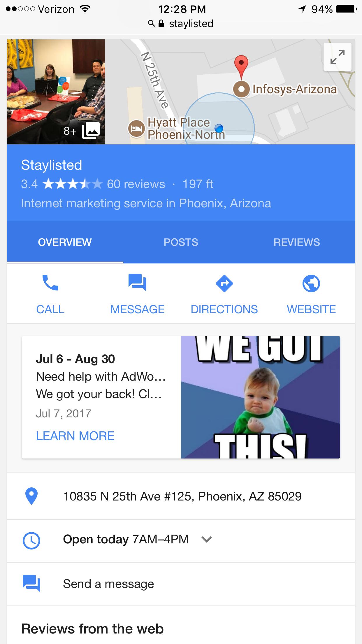 Google Messaging Phone