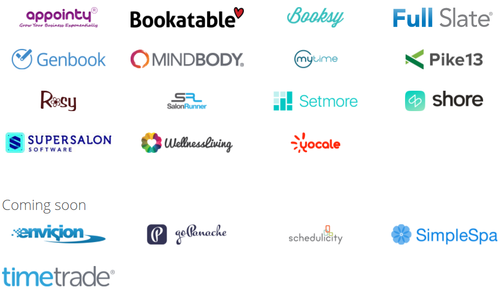 Reserve with Google Partners Booking