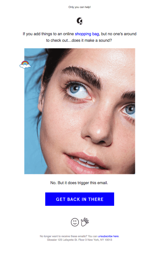 funny email campaign example