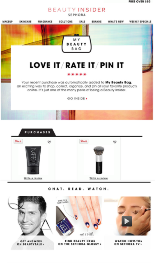 post purchase email drip campaign