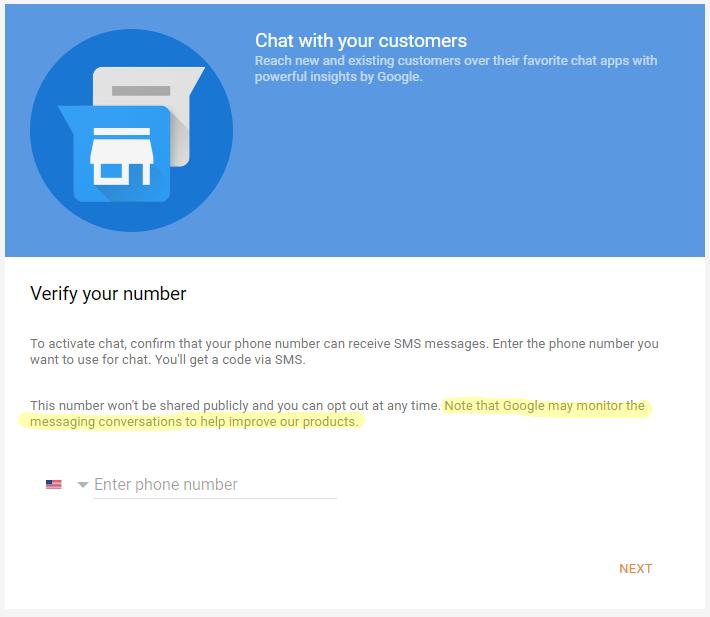 Google Messaging Messaging Home